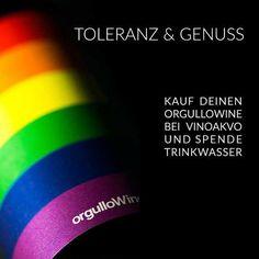 vinoakvo.de Toleranz & Genuss Fair Wein kaufen und Trinkwasser spenden  #vinoakvo #weinzuwasser #spenden #wasserspenden #wein #wine #wineporn #vino #wasser #water #mehrwert #fairkaufen #dukaufstweinduspendestwasser #orgullowine #sprüche #weinsprüche #verstehen #veränderung #liebe #queer #lgbt #bisexual #gaylove #homo #transgender #gaywine #gayparty