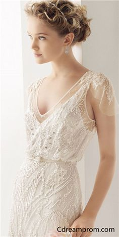 Lace wedding dress, Elegant wedding dress, Fashion