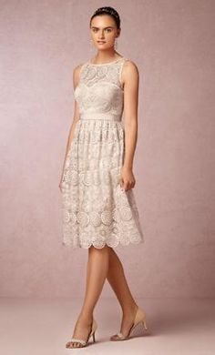 BHLDN Sylvie:   my wedding party dress #wedding #mybigday