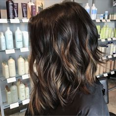 Balayage and cut by Savannah Shahan at Studio Bliss