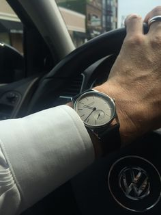 Orion Nomos 35mm on the wrist