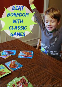 Beat boredom with games: Keep kids entertained over holiday break
