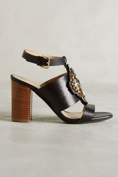 Kalliste Jeweled Nubuck Heels #anthrofave