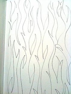 Free Motion Quilting Designs: Meandering and variations      (looks like tree bark)