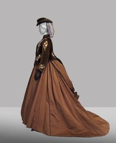 Costume designed by Piero Tosi for Romy Schneider as Empress Elisabeth of Austria in Ludwig (1972) From the Palazzo Pitti Galleria del Costume via Il Quotidiano Italiano