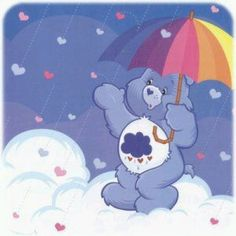 I still want to collect all of the care bears. Grumpy bear forever!
