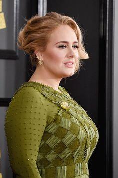 Grammy's 2017: de beste beautylooks #beauty #hairstyle #grammylook #adele