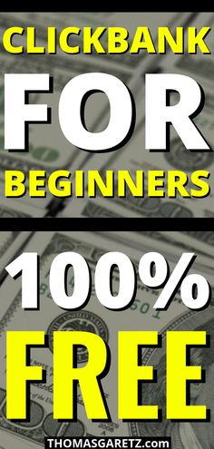In this ClickBank tutorial, I'm going to show you how to make money with affiliate marketing by using 3 stupid simple FREE traffic methods that any beginner can do Marketing Program, Marketing Software, Affiliate Marketing, Online Marketing, Marketing Websites, Marketing Products, Marketing Companies, Marketing Training, Marketing Strategies