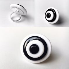 OVAL ring - Murano Glass