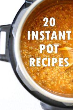 20 vegan instant pot recipes