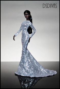 Le Smoking Adele Makeda in Karlo Perez fashion . | Flickr - Photo Sharing!