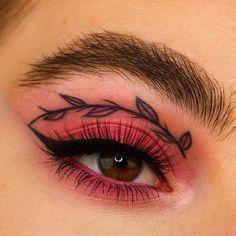 Edgy Makeup, Makeup Eye Looks, Grunge Makeup, Eye Makeup Art, Crazy Makeup, Cute Makeup, Eyeshadow Makeup, Makeup Inspo, Makeup Ideas