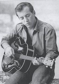 Bobby Darin    I can close my eyes & just imagine Bobby playing, singing, etc....!!