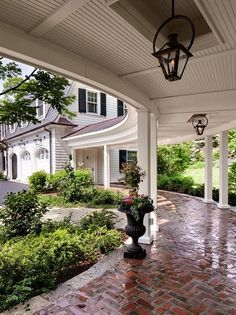 Image result for covered walk way from house to garage designs