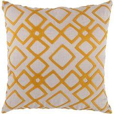 Artisan Weaver Kloten Decorative Pillow - 18'' x 18''
