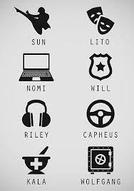 Nomi, will, Riley, capheus, kala, Wolfgang sense8