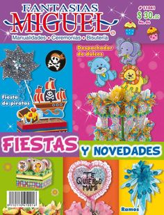 Princess Party Decorations, Book Crafts, Craft Books, Cold Porcelain, Make It Simple, Magazine, Disney, How To Make, Creando Ideas