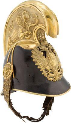 Austrian Model 1905 Dragoon Officers' Helmet....