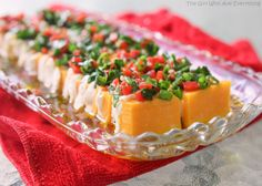 Marinated Cheese Appetizer - The Girl Who Ate Everything