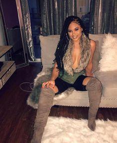 "2,012 Likes, 10 Comments - Diva Boutique (@divamodafashioncouture) on Instagram: ""@essencetatiana in our Amara faux fur vest  www.DivaBoutiqueOnline.com Search: Amara…"""