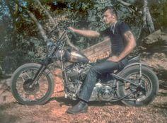 Gypsy Joker Hells Angel Bike: Phil Cross
