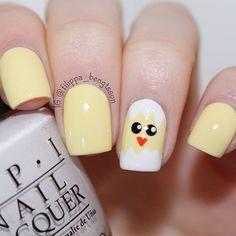 filippa_bengtsson easter #nail #nails #nailart