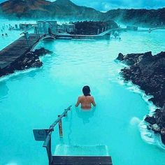 Blue Lagoon in Iceland 😍💙💦  Dream places to visit!!