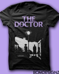 The Exorcist inspired Doctor Who shirt