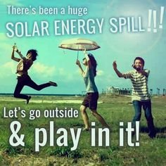 Happy Saturday! We are thankful for this beautiful, sunny day! #SolarSpill #SolarEnergy #GoSolar #WeLoveTheSun  www.VerengoSolar.com