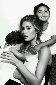 Doutzen Kroes and children