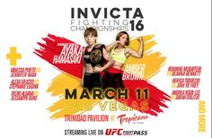 INVICTA FC vuelve a las Vegas el 11 de Marzo!!