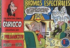 Carioco. Nostalgia, Comic Books, World, Vintage Posters, Youth, Ghosts, Wizards, Comics, Cartoons