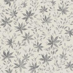 Eco Wallpaper Maple Leaf Dark Grey Wallpaper main image