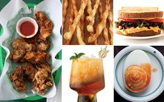 From country ham biscuits to deviled eggs and crispy fried chicken livers, this party menu of Southern finger foods will take you through this year's Kentucky Derby, start to finish.