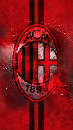 AC Milan HD Logo Wallpaper by on DeviantArt Ice cream and hand gestures and string Italian men . Milan Wallpaper, Hd Wallpaper Iphone, Ac Milan Logo, Ruud Gullit, Milan Football, Hd Logo, Cristiano Ronaldo Wallpapers, Painting Wallpaper, Free Hd Wallpapers