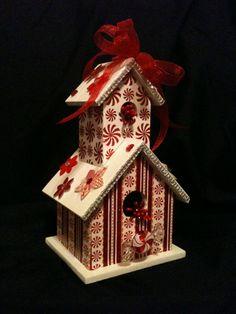 NEW Unique Handmade Wooden Birdhouse  by BirdhouseGiftGallery, $30.00