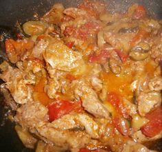 Zöldséges hús sült krumplival   Receptneked.hu (olcso-receptek.hu)