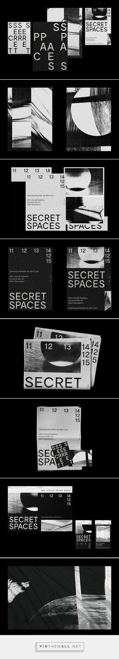 Secret Spaces - Exhibition on Behance - created via https://pinthemall.net