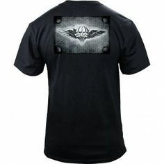 Parachute Rigger Diamond Plate T-Shirt Molon Labe 2a18252d7