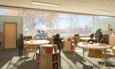 Elementary School Design by Adrienne Michaels, via Behance