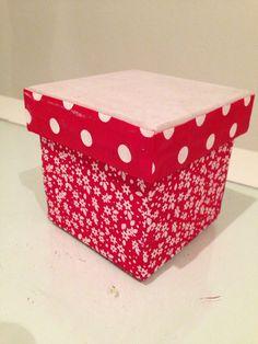 Fabric covered mdf box