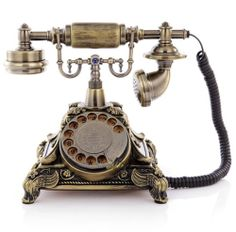 High Grade European Style Old process Restoring Antique Ancient Dial Telephone