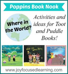 Activities for Toot and Puddle Books | Joy Focused Learning