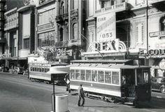 Av. 18 de Julio esq. Río Negro.Cine REX -- Montevideo , Uruguay --