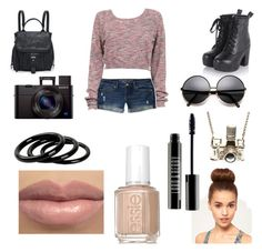 """""""hanging out"""" by mizaelp ❤ liked on Polyvore"""