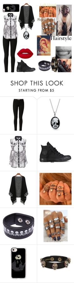 """""""Untitled #154"""" by luna506903187 ❤ liked on Polyvore featuring Bling Jewelry, Converse, Funk Plus, Casetify and Betsey Johnson"""