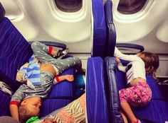 Airplane traveling tips with small children