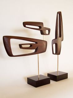 Mid Century Modern Art Sculpture Eames Era by Jetsetretrodesign--So flippin' cool!