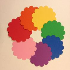 Scalloped circles set of 50  great for tags or by JTanakaDesigns
