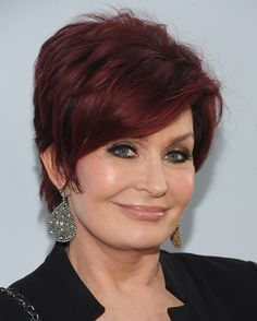 sharon osbourne hair cut